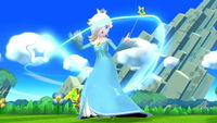 Rosalina as she appears in both versions of the game.