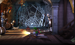 The Cellar in Luigi's Mansion: Dark Moon