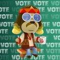 Option in a Play Nintendo poll on which Nintendo character could be class president. Original filename: <tt>1x1-BTS_18_poll_2_c.6ef5f3152e16d0ba.jpg</tt>