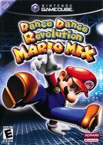 Dance Dance Revolution: Mario Mix boxart.