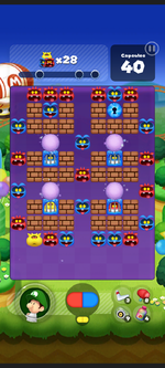Stage 259 from Dr. Mario World