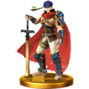 Ike trophy from Super Smash Bros. for Wii U