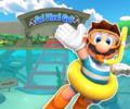 3DS Cheep Cheep Lagoon R/T from Mario Kart Tour