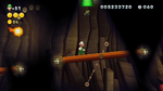 Luigi sighting in Piranhas in the Dark from New Super Luigi U