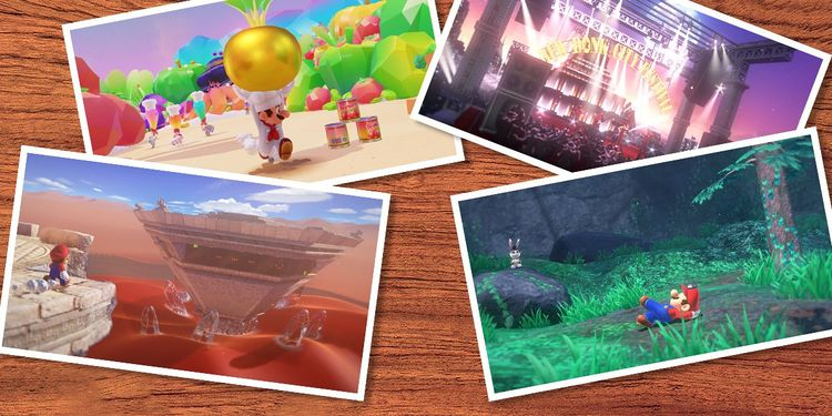 The image for the 2nd question of Super Mario Odyssey Fun Personality Quiz
