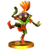 Trophy for the Skull Kid in Super Smash Bros. for Nintendo 3DS.