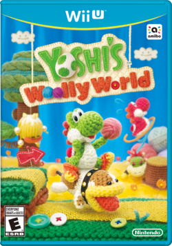 North American boxart from Yoshi's Woolly World.