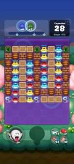 Stage 1072 from Dr. Mario World