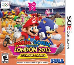 Mario & Sonic at the London 2012 Olympic Games cover for Nintendo 3DS.