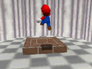Mario entering Rainbow Ride