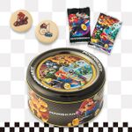 Mario Kart assorted cookies from Super Nintendo World