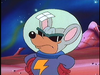 """""""Astro Mouser"""" as he appears in The Super Mario Bros. Super Show! episode, """"Stars in Their Eyes""""."""