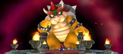 Super Bowser and Mario
