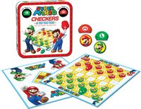 Display of Super Mario Checkers.