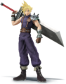 Cloud Strife - Super Smash Bros. for Nintendo 3DS and Wii U.png