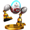 Colonel Pluck trophy from Super Smash Bros. for Wii U