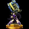 Dark Pit trophy from Super Smash Bros. for Wii U