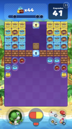 Stage 104 from Dr. Mario World