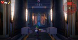 The Hallway of the Master Suite in Luigi's Mansion 3