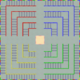 MKSC Unused SNES Battle Course 4 Map.png