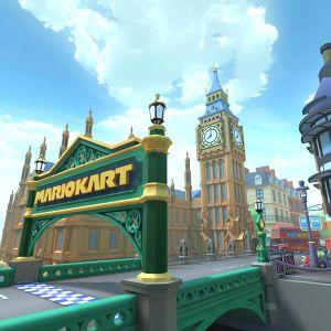 London Loop in Mario Kart Tour