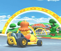 The icon of the Daisy Cup's challenge from the New York Tour in Mario Kart Tour.