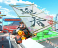 Thumbnail of the Daisy Cup challenge from the New Year's Tour; a Glider Challenge bonus challenge set on Tokyo Blur (Later reused for the 2nd Anniversary Tour's Hammer Bro Cup)