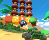 The icon of the Luigi Cup challenge from the New Year's Tour and the Toadette Cup challenge from the Sydney Tour in Mario Kart Tour