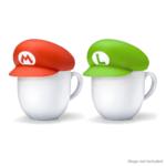 Super Mario cap mug covers from the Australian My Nintendo Store