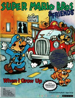 Super Mario Bros. & Friends: When I Grow Up box cover