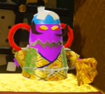 Shogun of Skewers in Yoshi's Crafted World.