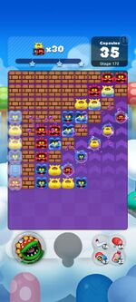 Stage 172 from Dr. Mario World since March 18, 2021