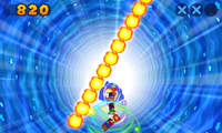 A Fire Bar in the Attackathon's Trio Whirligig mode.