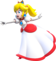 Fire Princess Peach Artwork (alt) - Super Mario 3D World.png