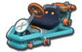 Thumbnail of Lemmy's Pipe Frame (with 8 icon), in Mario Kart 8.