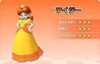 Daisy's stats in Mario Kart Arcade GP DX
