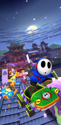The Ninja Tour from Mario Kart Tour.
