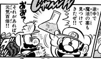 Magical Potion. Page 38, volume 8 of Super Mario-Kun.