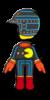 Pac-Man Mii racing suit from Mario Kart 8