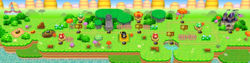 World 1 in the game New Super Mario Bros..