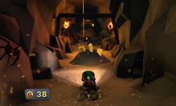 The Pit Slide segment from Luigi's Mansion: Dark Moon.