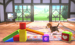 Screenshot of a stage from Super Smash Bros. for Nintendo 3DS