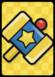 A Big KO Hammer Card in Paper Mario: Color Splash.