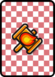 A Blazehammer Card in Paper Mario: Color Splash.