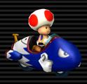 Toad's Bullet Bike
