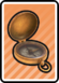 A Compass Card in Paper Mario: Color Splash.