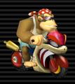 Funky Kong's Flame Runner