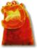 Magmaargh artwork from Super Mario Galaxy 2
