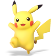 Pikachu from Super Smash Bros. Ultimate