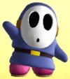 Blue Shy Guy from Mario Super Sluggers